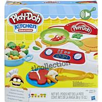 Sale!! Playdoh/ play doh kitchen creation Sizzlin Stovetop!! Original