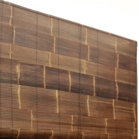 Tirai Bambu Vernish Size 1m x 2m