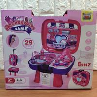 Mainan Salon Salonan 5in1 aksesoris Kecantikan Edukasi