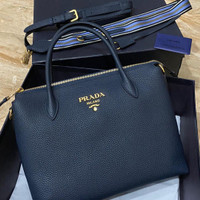 tas prada milano Full ToGo leather Mirror Vip handmade quality