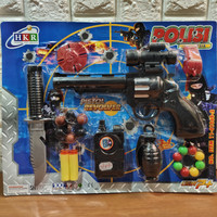 Mainan 1 Set Pistol Polisi