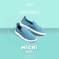 WAKAI MICHI SLIP ON CASUAL CLASSIC NEW IMPROVEMENT LIGHTWEIGHT