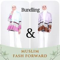 Emikoawa Bundling 1 - Outer Wanita Gamis Hijab Tunik Kulot Blouse