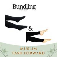 Emikoawa Bundling 4 - Outer Wanita Gamis Hijab Tunik Legging Blouse