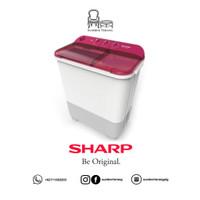 Mesin Cuci 2 tabung Sharp EST 75 NT 7,5 kg / Sharp Washing Machine