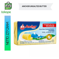 Anchor UNSALTED Butter 227 gr New Zealand Butter