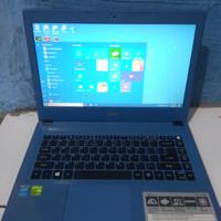 Laptop Acer E5-473G Core i5 Ram 4GB VGa Nvidia 920MX-2GB Second murah
