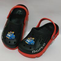 Sepatu Sandal Baim S19-29 Crocs Porto Karakter Kartun Sepatu Bayi/Anak