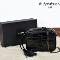 YSL Crocodile Camera Bag C158 | Tas Branded Wanita Import Batam