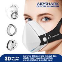 masker airshark 4ply bukan onemed garansi 6 bulan