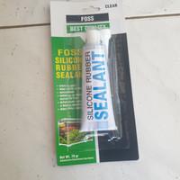 lem silicone sealant aquarium bening 70gr