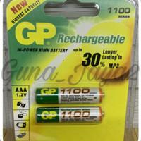 Baterai Charger GP 1100Mah AAA Nimh - Batre Cas AAA GP 1100MAh 1.2V