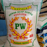 beras pandan wangi Cianjur cap PW 10 kg