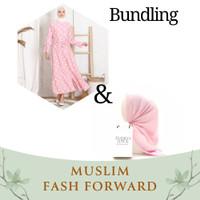 Emikoawa Bundling 3 - Outer Wanita Gamis Hijab Tunik Kulot Blouse