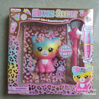 Buku Diary Anak Secret Message Kitty & Invisible Ink Pen HOT FOCUS