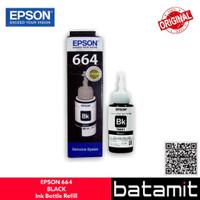 (batamit) Tinta / Ink Refill Botol EPSON 664 (Black) Original