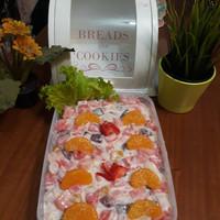 salad buah 500 ml