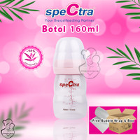 Botol Spectra embossed PP wide neck 160 ml 160ml breastpump pompa ASI