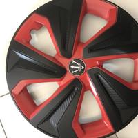 Dop Roda Mobil 14 Inch Wheel Cover Velg Evolution HItam SIlver Merah