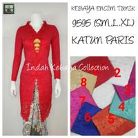 9097 Indah Kebaya Modern Encim Kutubaru Bali Murah Batik Bordir Brokat