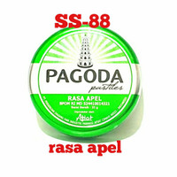 PAGODA PASTILES ~ PERMEN RASA LEMON, APEL, JERUK, ANGGUR