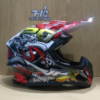 JPX fullface cross FOX1 X16 snake Mamba gloss