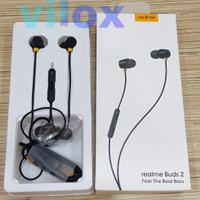 hf handsfree earphone realme buds 2 jack 3.5mm magnetic