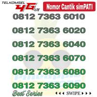 Nomor Cantik Simpati telkomsel 4G LTE seri 7363 x0x0