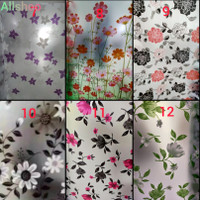 Sticker Jendela Sticker Film Kaca Lebar90cm - Motif No.7