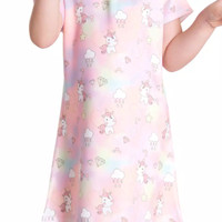 Dress Anak Unicorn | Rainbow Unicorn | Dress Anak Unicorn Bahan Scuba