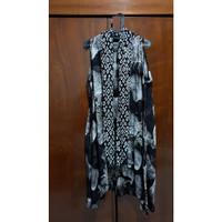 Jual baju atasan outer wanita murah - Batik Hitam Putih (59)