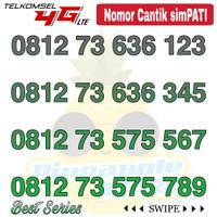 Nomor Cantik Simpati telkomsel 4G LTE seri ABC