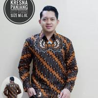 Kemeja Batik Kresna Lengan Panjang
