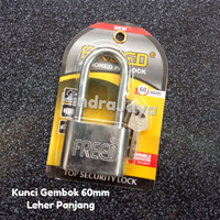 Kunci Gembok 60mm Leher Panjang