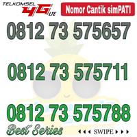 Nomor Cantik Simpati telkomsel 4G LTE seri 5757 xx