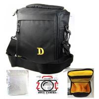 Tas Kamera Kotak Nikon D DSLR BX30 Bag Camera Lensa Standart Bx 30 Cam