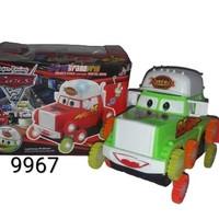 Mainan Mobil Cars Mcqueen Lampu Suara