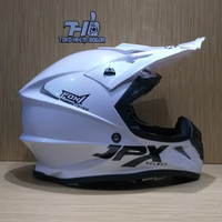 JPX fullface cross FOX1 pearl White