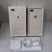 Apple iphone 8 plus 256 Gb seken mulus no dent fullset