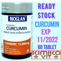 Bioglan Clinical Curcumin 15.800 mg - 60 tablet