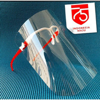 Face Shield Kemerdekaan Pelindung Wajah Safety Face Shield