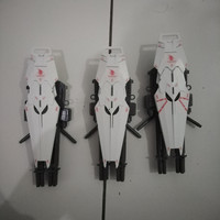 bandai mg unicorn full armor verka shield + gatling gun senjata gundam