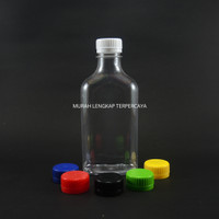 Botol Plastik Madu Gepeng 350 ml