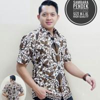 Kemeja Batik Sambara Lengan Pendek