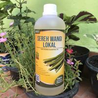 Citronella Essential Oil 1 Liter │Minyak Atsiri Sereh Wangi Lokal