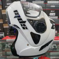Helm Modular MDS Prorider Solid White