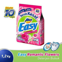 Attack Easy Romantic Flowers Detergen Bubuk 1,2Kg