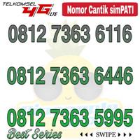 Nomor Cantik Simpati telkomsel 4G LTE seri 7363 abba