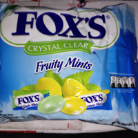 Permen FOX Fruity Mint @ 125 Gram