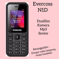 Evercoss N1D hp murah bergaransi